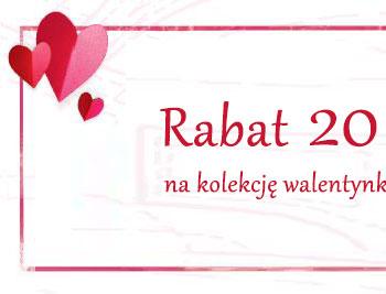 Rabat 20% na wybrany asortyment